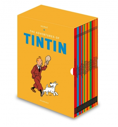 The Adventures of Tintin Complete 23 Books Collection Set by Herge
