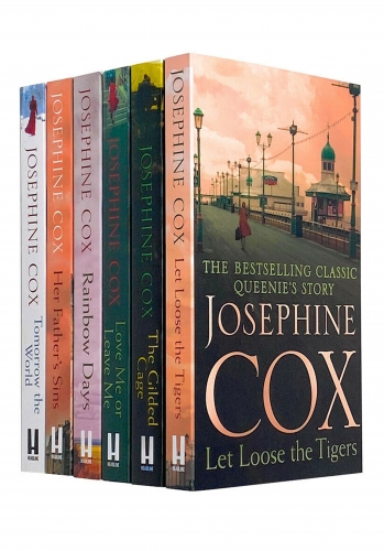 Josephine Cox 6 Books Collection Set Rainbow Days,Gilded Cage,Tomorrow the World by Josephine Cox