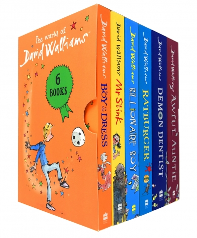 The World of David Walliams 6 Books Collection Box Set Boy in the Dress, Mr Stink by David Walliams