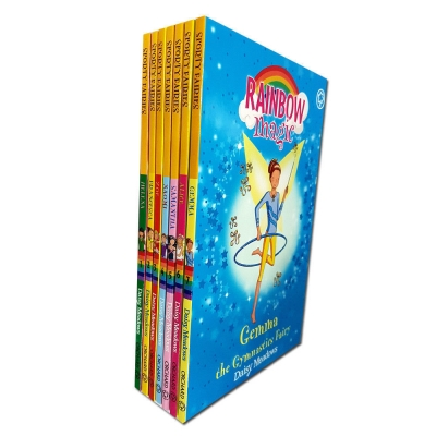 Rainbow Magic Series 9 The Sporty Fairies Collection 7 Books Set Books 57-63 by Daisy Meadows