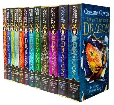 How To Train Your Dragon 12 Books Collection Set By Cressida Cowell by Cressida Cowell