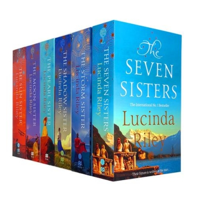 Lucinda Riley 6 Books Collection Set Storm Sister, Seven Sisters, Sun Sister by Lucinda Riley