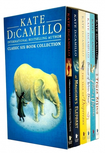 Kate Dicamillo Classic 6 Books Children Collection Paperback Gift Pack Box Set by Kate DiCamillo