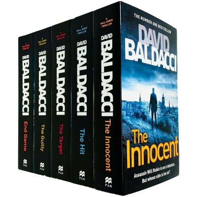 Will Robie Series Complete 5 Books Collection Set by David Baldacci by David Baldacci