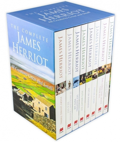 The Complete James Herriot Collection 8 Books Box Set 1-8 By James Herriot by James Herriot