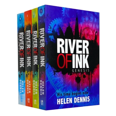 River of Ink Series 4 Books Collection Set By Helen Dennis (Genesis, Zenith, Mortal, Immortal) by Helen Dennis