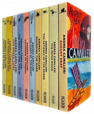 Inspector Montalbano 10 Books Set Collection by Andrea Camilleri Series 1 by Andrea Camilleri