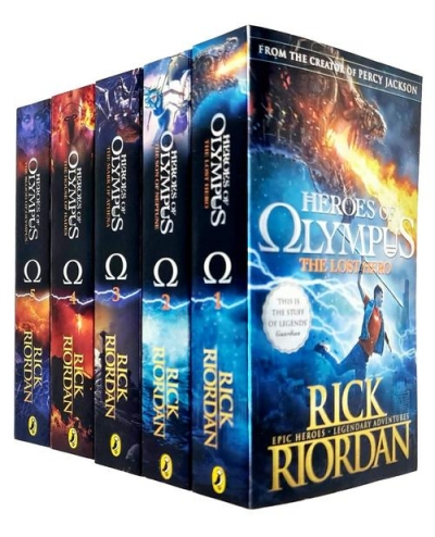 The Heroes of Olympus The Complete 5 Books Collection Set By Rick Riordan by Rick Riordan