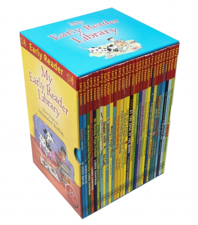 My Early Reader Library Collection 30 Books Box Set for Independent Reading and Writing by Various