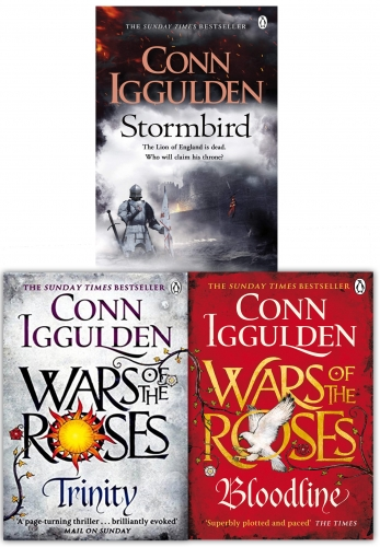 Wars of the Roses Series Conn Iggulden 3 Books Collection Set by Conn Iggulden