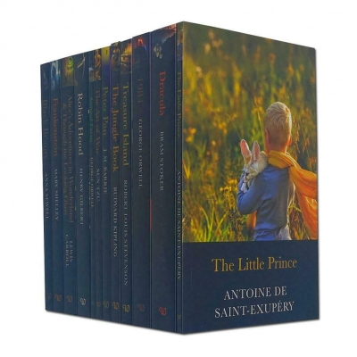 The Classic Collection 12 Books Set The Little Prince, The Jungle Book, Peter Pan by Various