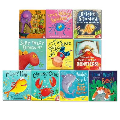 My First Silly Bedtime Stories 10 Childrens Books Collection Set by Various