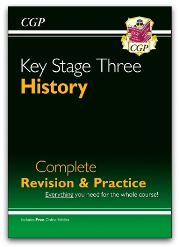 KS3 History Complete Revision & Practice (with Online Edition) by CGP Books