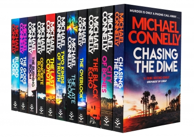Michael Connelly Harry Bosch Series 11 Books Collection Set Blood Work The Late Show by Michael Connelly