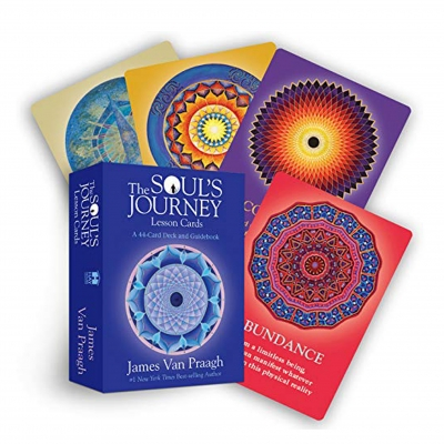 The Souls Journey Lesson Cards: A 44-Card Deck and Guidebook by Mr James Van Praagh