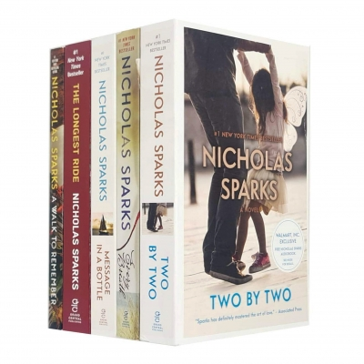 Nicholas Sparks Collection 5 Books Set (Two by Two, Every Breath, Message in a Bottle, The Longest Ride, A Walk to Remember) by Nicholas Sparks