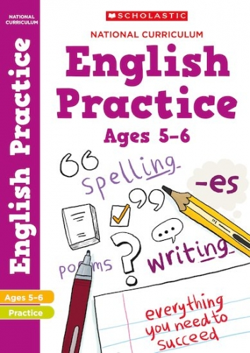 100 Practice Activities: English Practice Book for Year 1 (Age 5-6) by Scholastic