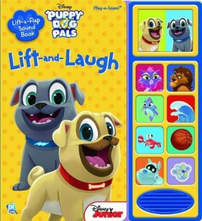 Disney Junior Puppy Dog Pals - Lift and Laugh Out Loud Sound Book by PI Kids