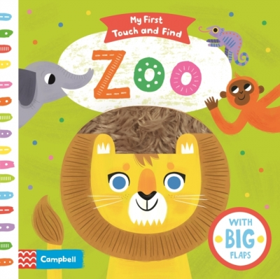 My First Touch and Find Zoo Children Early Learning Activity Book by Allison Black