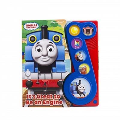 Thomas and Friends Its Great to Be an Engine Little Music Note Sound Book by PI Kids