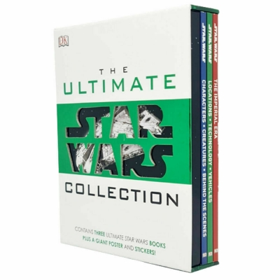 The Ultimate Star Wars Collection 3 Books Set by DK Publishing Ltd