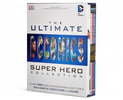 DC Comics The Ultimate Superhero Collection 3 Books Set by Various