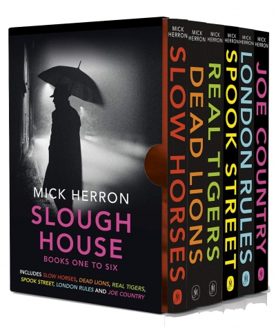 Slough House Thriller Series Books 1 - 6 Collection Box Set by Mick Herron by Mick Herron