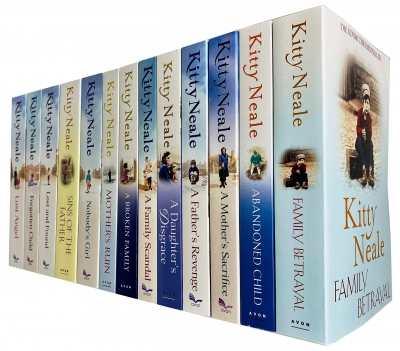 Kitty Neale Collection 13 Books Set A Broken Family, Abandoned Child by Kitty Neale