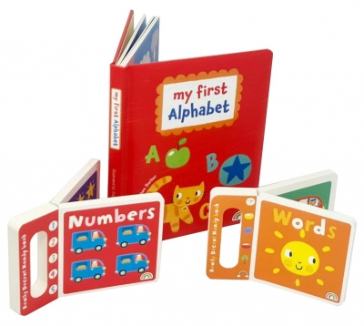 My First Alphabet Collection Numbers & Words Board Book Set by Stephen Barker