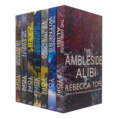 Lake District Mysteries Collection 7 Books Set Pack By Rebecca Tope by Rebecca Tope