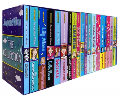 Jacqueline Wilson Collection 21 Books Set Double Act, Candyfloss, Rent a Bridesmaid, Cookie, Little Darlings, Best Friends by Jacqueline Wilson
