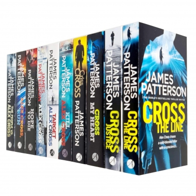 James Patterson Alex Cross Series 10 Books Collection Set (Cross the Line, Cross Justice, Cross My Heart, Criss Cross, Kill Alex Cross, Target & More) by James Patterson