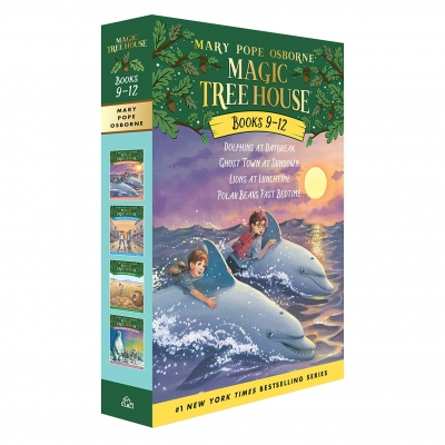 Magic Tree House Series Collection 4 Books Box Set (Books 9 - 12) by Mary Pope Osborne