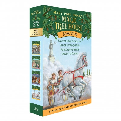Magic Tree House Series Collection 4 Books Box Set (Books 13 - 16) by Mary Pope Osborne