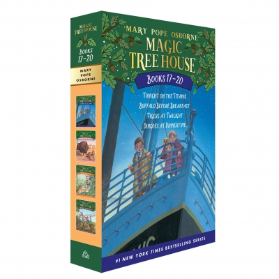 Magic Tree House Series Collection 4 Books Box Set (Books 17-20) by Mary Pope Osborne