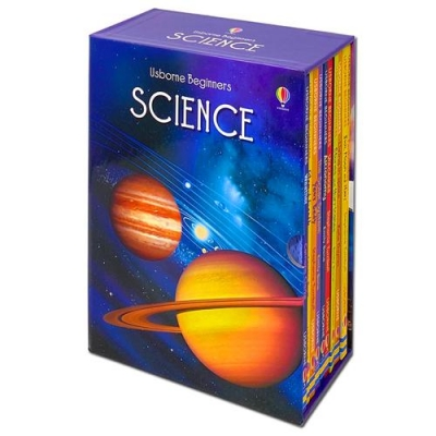 Usborne Beginners Series Science Collection 10 Books Box Set by Various