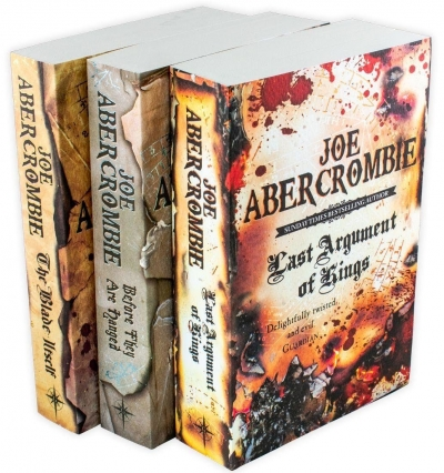 The First Law Trilogy 3 Books Collection Set By Joe Abercrombie The Blade Itself, Before They Are Hanged, Last Argument of Kings by Joe Abercrombie