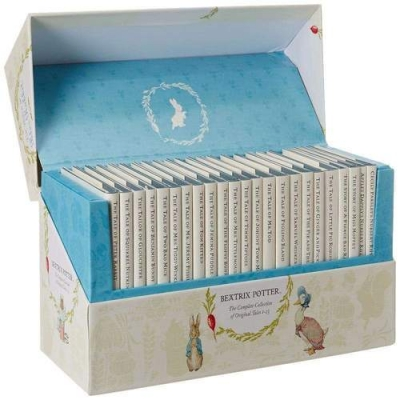 Beatrix Potter Books The World of Peter Rabbit Complete Collection 23 Books Set by Beatrix Potter