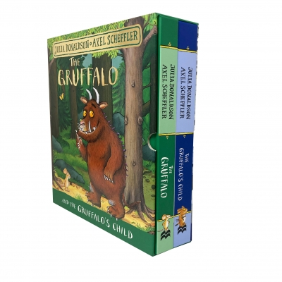The Gruffalo and The Gruffalos Child 2 Books Collection Set by Julia Donaldson and Axel Scheffler by Julia Donaldson, Axel Scheffler