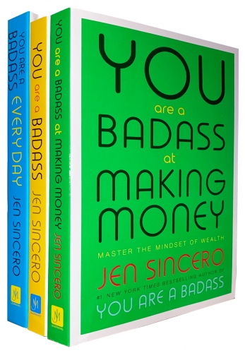 You are a Badass, You are a Badass Everyday, You are a Badass at Making Money 3 Books Collection Set by Jen Sincero by Jen Sincero