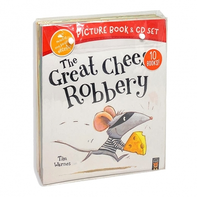 The Great Cheese Robbery and Other Stories Collection 10 Books & CDs Set by Various