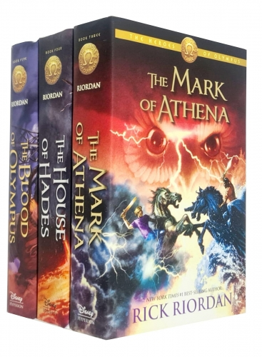 The Heroes of Olympus Collection 3 Books Set Collection by Rick Riordan - Hardback by Rick Riordan