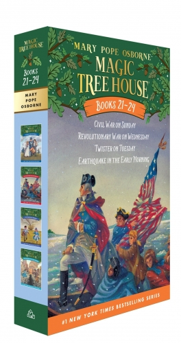 Magic Tree House Series Collection 4 Books Box Set (Books 21 - 24) by Mary Pope Osborne