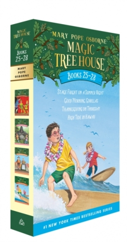 Magic Tree House Series Collection 4 Books Box Set (Books 25 - 28) by Mary Pope Osborne