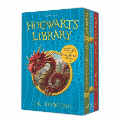 The Hogwarts Library 3 Books Collection Box Set by J.K. Rowling by J.K. Rowling