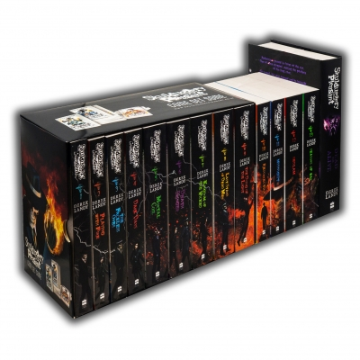 Skulduggery Pleasant 14 Books Collection Set By Derek Landy Skulduggery Pleasant, Playing With Fire, The Faceless Ones, Dark Days, Mortal Coil & More by Derek Landy