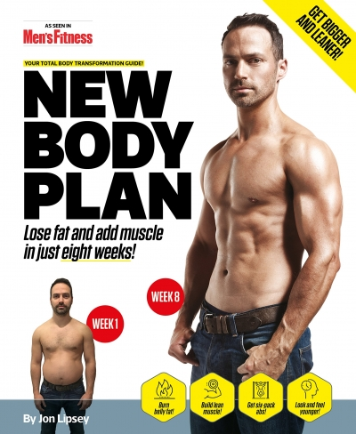 New Body Plan: Your Total Body Transformation Guide by Jon Lipsey