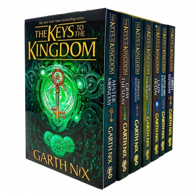 The Keys to the Kingdom Complete Series 7 Books Collection Box Set by Garth Nix by Garth Nix