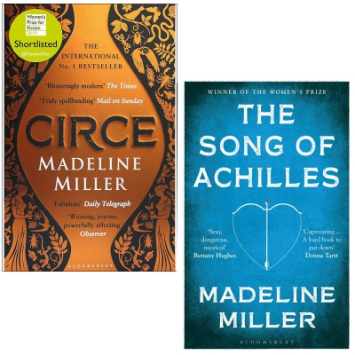 Circe and The Song of Achilles By Madeline Miller 2 Books Collection Set by Madeline Miller