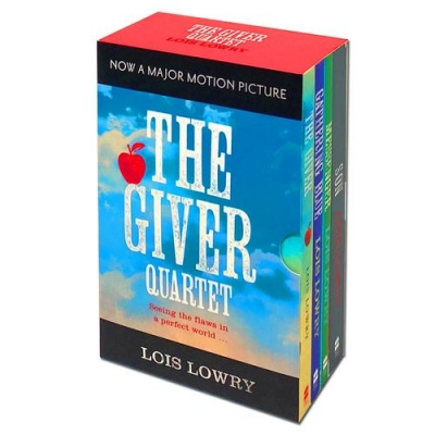 The Giver Quartet Series Collection 4 Books Box Set - The Giver, Gathering Blue, Messenger, Son by Lois Lowry